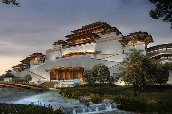 汉中兴元新区汉文化博览园